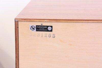 画像3: 北欧家具 Kai Kristiansen カイ・クリスチャンセン  チーク2段チェスト