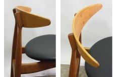 画像4: 北欧家具/ハンス J ウェグナー CH33ダイニングチェアー (4)