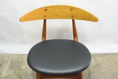 画像1: 北欧家具/ハンス J ウェグナー CH33ダイニングチェアー
