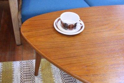 画像1: チーク トライアングル コーヒーテーブル デンマーク製 Tranekær社製