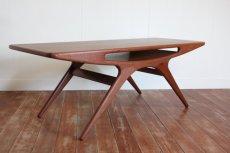 画像4: 北欧ヴィンテージ家具/デンマーク製 ヨハネス・アンダーセン スマイルテーブル  (4)