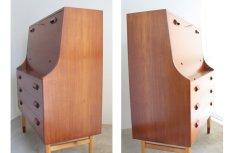 画像4: 北欧ビンテージ家具/デンマーク Borge Mogensen ボーエ モーエンセン ライティングビューロー  (4)