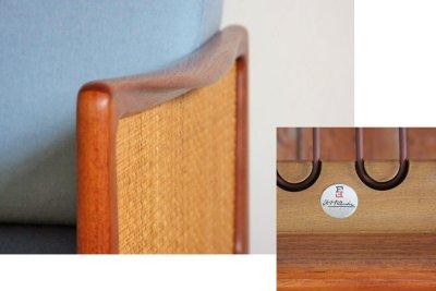 画像1: 北欧ビンテージ家具 /Peter Hvit & Orla Molgaard-Nielsen/FD451/ディベッド