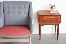 画像8: ビンテージ北欧家具/デンマーク製/Johannes Andersen /ヨハネス・アンダーセン/スモールチェスト/チーク (8)