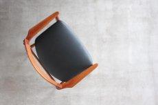 画像9: 北欧ビンテージ家具/デンマーク製/Henry Rosengren Hansen /カンファレンスチェア/チーク アーム付き (9)