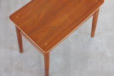 画像4: 北欧ビンテージ家具/デンマーク製 チーク&オークスツール (4)
