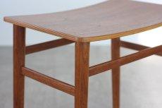 画像3: 北欧ビンテージ家具/デンマーク製 チーク&オークスツール (3)