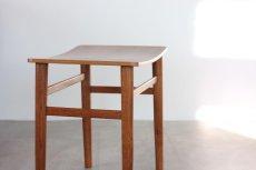 画像2: 北欧ビンテージ家具/デンマーク製 チーク&オークスツール (2)