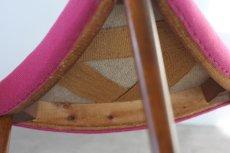 画像3: 北欧ビンテージ家具/デンマーク製 /チーク三角スツール (3)