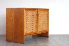 画像3: 北欧ビンテージ家具/デンマーク ウェグナー/オークキャビネット/RY100 (3)