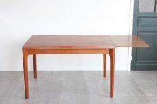 画像9: 北欧家具/ヴィンテージ/デンマーク製 /Henning Kjærnulf/ダイニングテーブル/チーク (9)