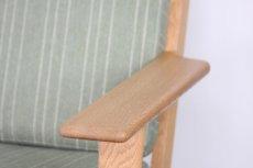 画像5: ビンテージ北欧家具/ハンス J ウェグナー/GE290/3人掛けソファー/オーク (5)