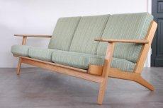 画像1: ビンテージ北欧家具/ハンス J ウェグナー/GE290/3人掛けソファー/オーク (1)