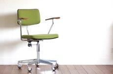 画像1: 北欧ビンテージ家具/デンマーク製/Labofa/オフィスチェア/チークアーム (1)
