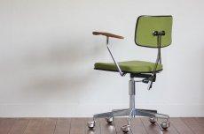画像5: 北欧ビンテージ家具/デンマーク製/Labofa/オフィスチェア/チークアーム (5)
