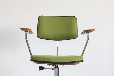 画像3: 北欧ビンテージ家具/デンマーク製/Labofa/オフィスチェア/チークアーム