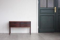 画像1: 北欧ビンテージ家具/デンマーク/ロイヤルコペンハーゲン/ローズウッド/チェスト (1)