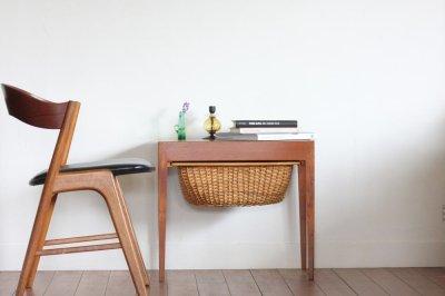 画像1: 北欧ビンテージ家具/デンマーク/ソーイングキャビネット/Haslev Mobelfabrik