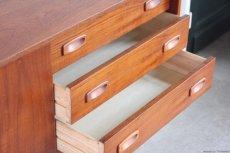 画像5: 北欧ビンテージ家具/デンマーク製/チークサイドボード (5)