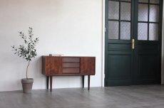 画像2: 北欧ビンテージ家具/デンマーク製/サイドボード/ローズウッド (2)