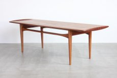 画像2: 北欧ビンテージ家具/デンマーク製/Tove & Edvard Kindt - Larsen/コーヒーテーブルFD503/チーク (2)