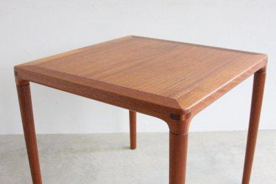 画像1: 北欧ビンテージ家具/チーク/サイドテーブル