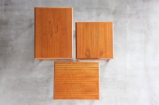画像7: 北欧ビンテージ家具/デンマーク/チークネストテーブル  (7)