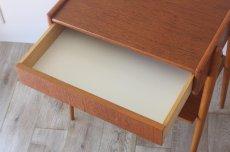 画像5: 北欧ビンテージ家具/スウェーデン/チーク×ビーチ/ベッドサイドテーブル (5)