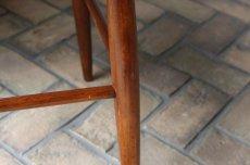 画像3: 北欧ビンテージ家具/スウェーデン/COSBY VERKEN/木製スツール/ブラック/No.2 (3)