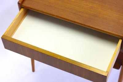 画像1: 北欧ビンテージ家具/スウェーデン/チーク×ビーチ/ベッドサイドテーブル