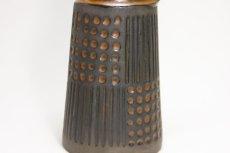 画像4: ビンテージ北欧雑貨/Upsala Ekeby /ウプサラ エクビィ/マリ・シムルソン/Grafit/Ruta/花瓶 (4)