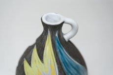 画像2: Upsala Ekeby/ウプサラ エキュビ/マリ・シムルソン/チューリップ花瓶/一輪挿し 丸形 (2)