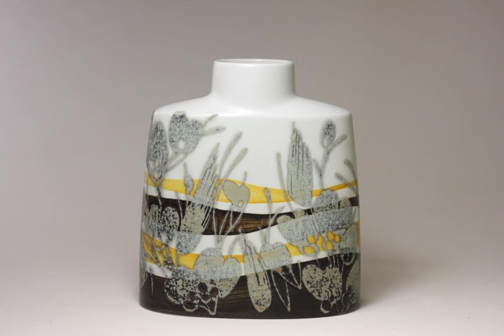 画像1: ロイヤルコペンハーゲン/Royal Copenhagen Bacaバッカ Ellen Malmer エレン マルマー 花瓶 No.2 (1)