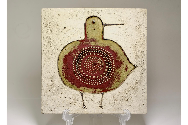画像1: Rorstrand/ロールストランド/Sylvia Leuchovius /シルヴィア・レイショブス /小鳥陶板 (1)