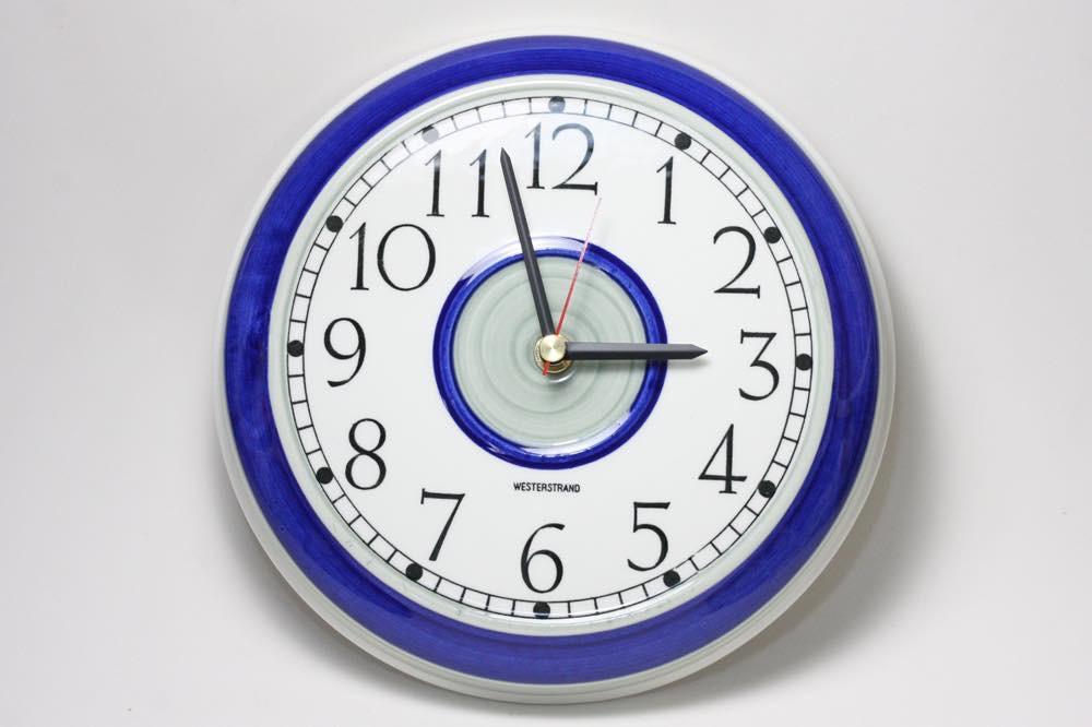 画像1: Rorstrand/ロールストランド/壁掛け時計/新品クロックムーブメント使用/ Westerstrand (1)