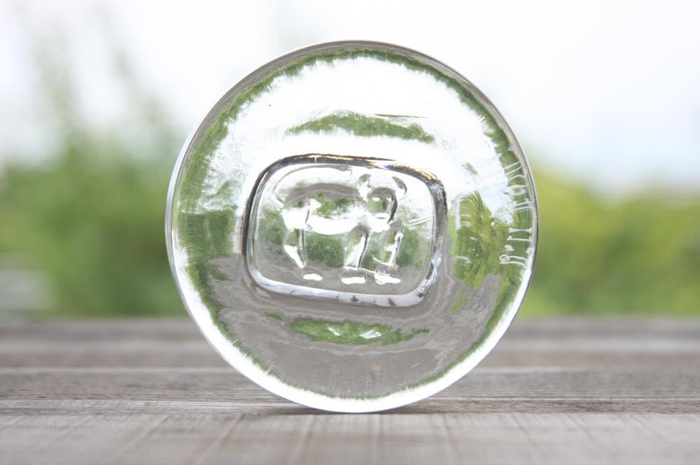 画像1: ErikHoglund/エリックホグラン/ガラス/クリア/アッシュトレー/アニマル (1)