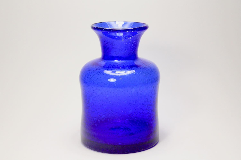 画像1: ErikHoglund/エリックホグラン/気泡入り/ボトル/ブルー (1)