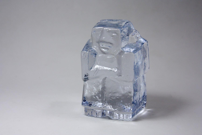 画像1: Erik Hoglund/エリックホグラン/ガラス/腕組みヒト/ブックエンド (1)
