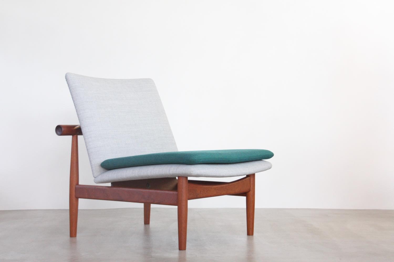 画像1: ビンテージ北欧家具/Finn Juhl/フィン・ユール/FD137/イージーチェア (1)