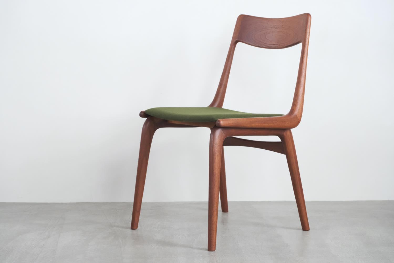 画像1: 北欧ビンテージ家具/デンマーク製/Alfred Christiansen/Boomerang Chair/ブーメランチェア/チーク/ダイニングチェア (1)