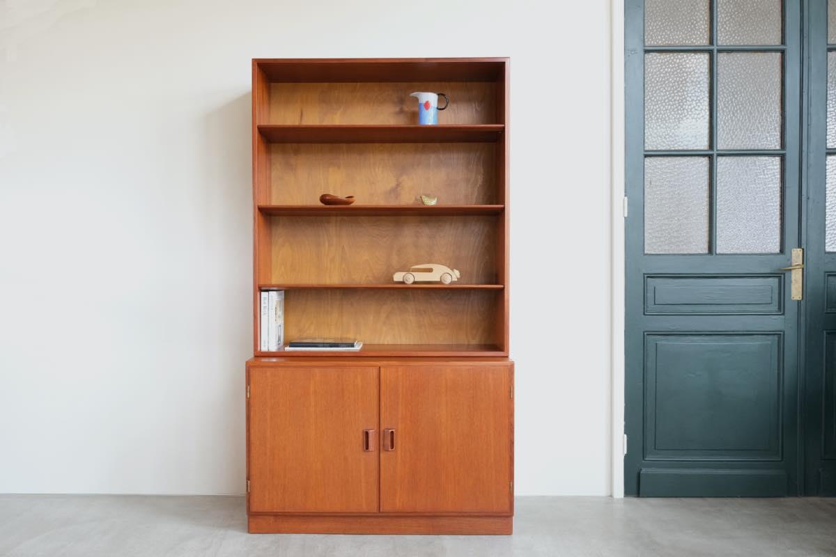 画像1: 北欧ビンテージ家具/Borge Mogensen/ボーエ・モーエンセン/チーク/ブックシェルフ (1)