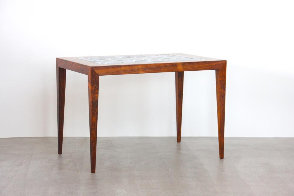 画像1: ビンテージ北欧家具/デンマーク/ロイヤルコペンハーゲン/ローズウッド/タイルテーブル (1)