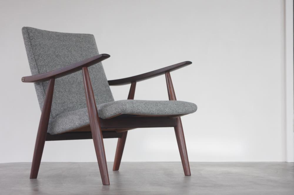 画像1: 北欧家具|ヴィンテージ|Hans j Wegnerハンス J ウェグナー GE260 イージーチェア (1)