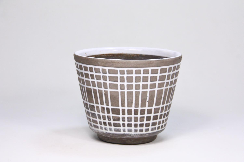 画像1: 北欧ガーデニンググッツ/ビンテージ/Upsala Ekeby/ウプサラエクビィ/植物ポット/鉢/Sサイズ (1)