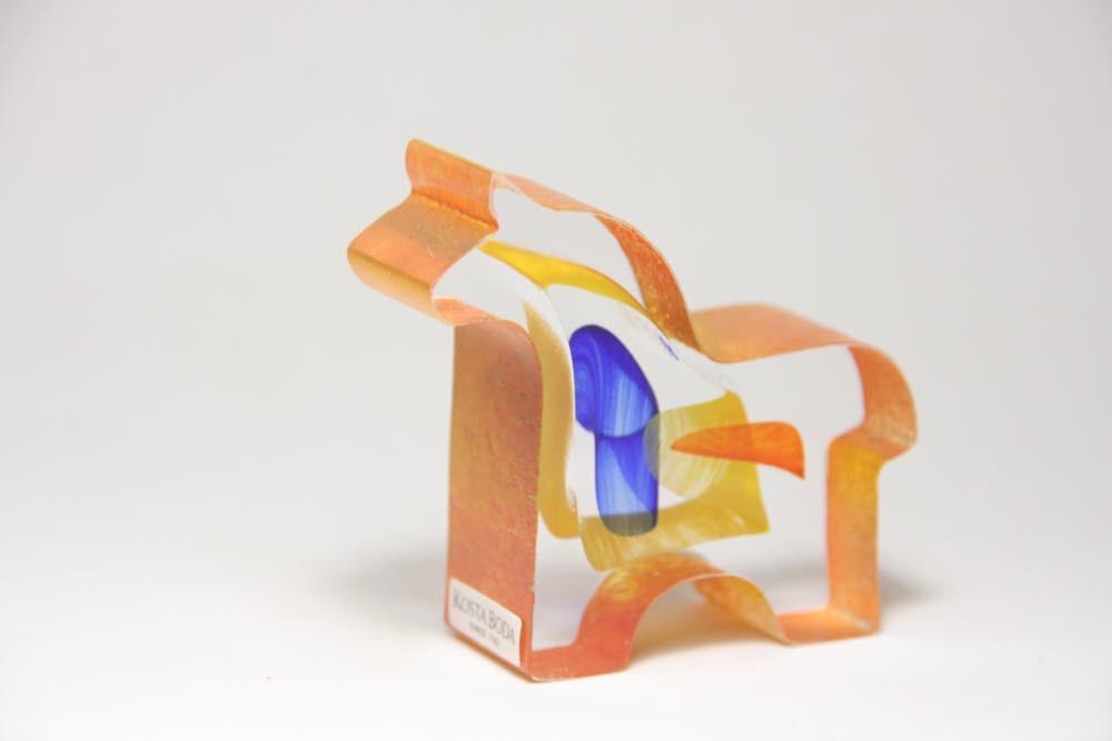 画像1: 北欧ガラス /KOSTA BODA /Bertil Vallien/ダーラナホース/クリスタル (1)