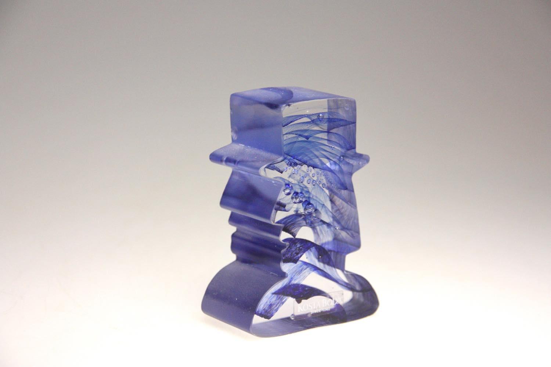 画像1: 北欧ガラス /KOSTA BODA /Bertil Vallien/mini sculptures/Gentleman (1)