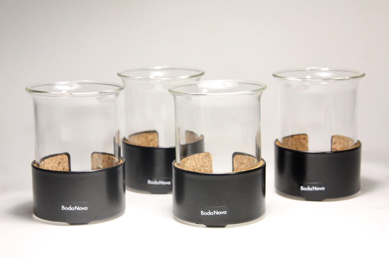 画像1: スウェーデン/BODA NOVA/ボッダノバ/ULF HANSES/ウルフ ハンセス/グロッグ/ホットワイン用耐熱グラス (1)
