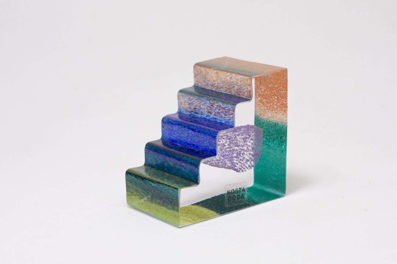 画像1: 北欧ガラス /KOSTA BODA /Bertil Vallien/Mini Sculptures/Entrance/エントランス (1)