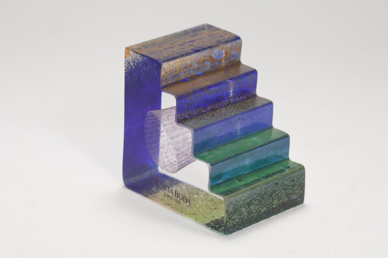 画像1: 北欧ガラス /KOSTA BODA /Bertil Vallien/階段 (1)