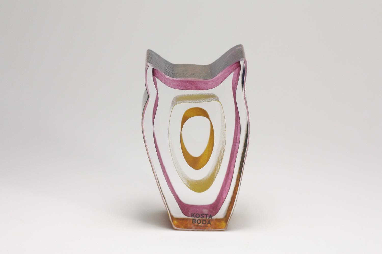 画像1: 北欧ガラス /KOSTA BODA /Bertil Vallien/フクロウ (1)